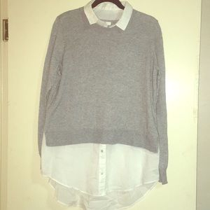 Long Sleeve Sweater Tunic Top